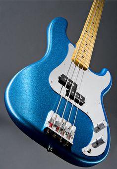 The Fender Precision Bass - Steve Harris signature model