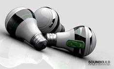 SoundBulb Wireless LED Speaker Light