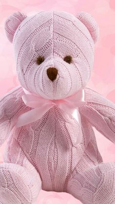 Pink Teddy ❤ Have a Twitter follow me! Just got one its~ @emmyv24 Luv ya
