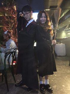 Chen et Yeri en Harry Potter et Hermione