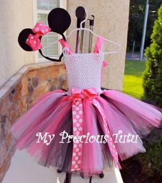 Minnie Mouse Tutu Dress by MyPreciousTutu on Etsy, $50.00
