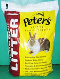 Outstanding odor control combined with superior absorbency.  Dust-free, gentle and flushable.  Litter is environmentally safe.  Recommended by rabbit breeders and Vets.
