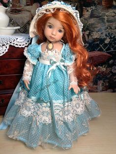 Effner Little Darling Doll Regency limited by SewMuchMoreToSew