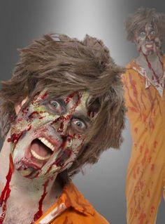 Zombie Makeup Set Horror für Halloween