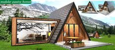 FOR SALE / Te koop: MOD op MAAT - modulaire woning - Real Estate Slovenia - Mountain MOD - www.slovenievastgoed.nl