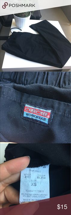 Cherokee Scrubs Black Cherokee Scrubs in size XS. In perfect condition. Cherokee Other