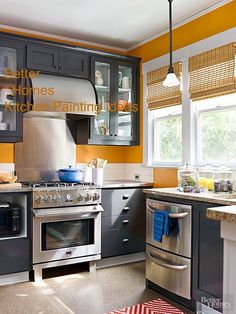 kitchen painting can be done very nicely smooth even application of paint and good skill in the process of painting https://mississaugahandyman.com/services/painting-custom-cabinet-doors/