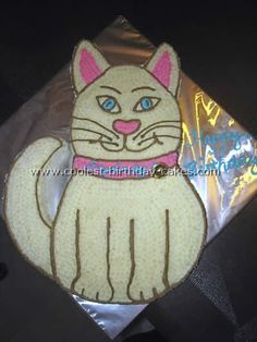 Coolest Homemade Cat Birthday Cake Photos and How-To Tips