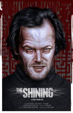 The Shining - movie poster - Tom Velez
