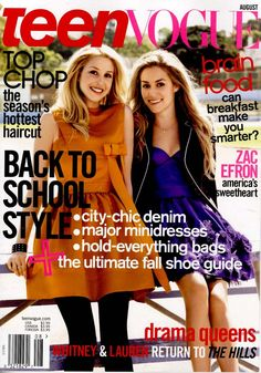 teen vouge. I love fashion. It's my life. So, I always have a teen vouge on my night stand.