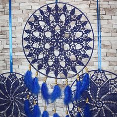 Blue Wedding Dreamcatcher Set    #dreamcatcher #dreamcatcher , #crochetdreamcatcher , #lacedreamcatcher , #bohodreamcatcher , #bohostyle , #bohochic , #boho , #hippiedecor , #bohemianstyle , #makatarina, #etsyshop , #girly #crochetinglove , #crochetart , #bohowalldecor , #hippie, #bohochic , #bohostyle , #crocheteddreamcatcher, #gypsy, #gypsystyle #photoprop #backdrop #bluewedding