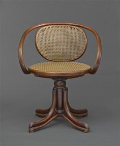 Office Chair Number 1 Michael Thonet, designed circa 1866 musée d'Orsay