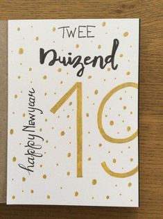 Christmas And New Year, Christmas Crafts, Xmas, Bullet Journal 2019, Karten Diy, Happy New Year Cards, Bullet Journal Inspiration, Diy Cards, Diy Gifts