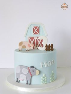 Peace of Cake - Cake Designs ♥︎ My little farm cake