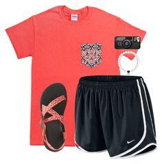 QOTD in description – Outfit Inspiration – Amazing Outfits Cute Athletic Outfits, Cute Lazy Outfits, Basic Outfits, Sporty Outfits, Cool Outfits, Teen Fashion Outfits, Outfits For Teens, Summer School Outfits, Mode Bcbg
