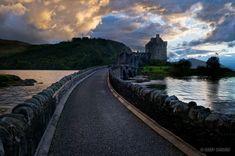 another view of Eilean Donan Castle ... Kyle of Lochalsh, Scotland