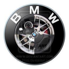 BMW Logo by Pisci.deviantart.com on @DeviantArt