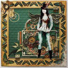 Steampunk Debutante - Scrapbook.com