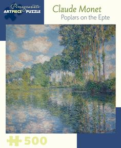 Claude Monet: Poplars on the Epte 500-piece Jigsaw Puzzle
