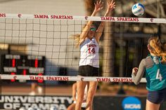 University of Tampa Division I Beach Volleyball - Custom Top Net Tape for Beach Volleyball University Of Tampa, Volleyball Net, Athletics, Division, Tape, Band, Ice