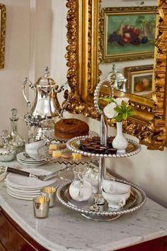 Brunch Buffet Tablescape High Tea Ideas For 2019