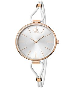 ck Calvin Klein Watch, Women 's Swiss Selection - Mode Schmuck Trends Ck Calvin Klein, Calvin Klein Watch, Cute Watches, Modern Watches, Stylish Watches, Wrist Watches, Luxury Watches, Bracelet Cuir, Bracelet Watch
