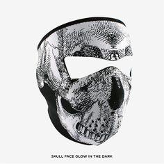 Zan Unisex Full-Face Neoprene Masks - Assorted Styles