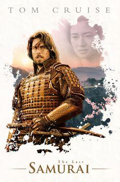 The Last Samurai (2003) ~ Alternative Movie Poster by Benjamin Capazo #amusementphile