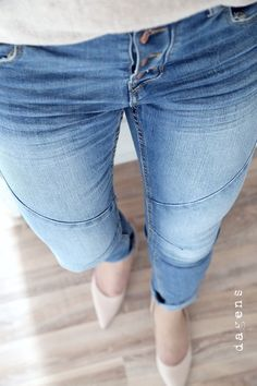 dagens gina tricot jeans & peter kaiser shoes