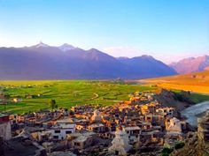 View of Sankoo Village  101 things to do in Leh