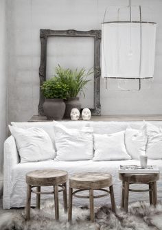 Inspiration in White: Natural Home - lookslikewhite Blog - lookslikewhite