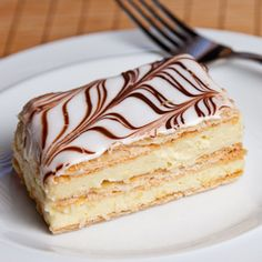 Napoleon: only had it once, and it is my favorite dessert in the world.
