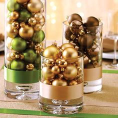 DIY Christmas Centerpiece                                                                                                                                                                                 More