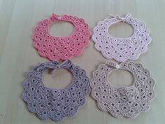 Baby Bibs, Crochet Earrings, Creativity, Fashion, Handmade Accessories, Handmade, Bibs, Moda, Fashion Styles