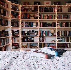 Home Library Design, Dream Library, House Design, Home Library Decor, Design Desk, Library Bedroom, Room Ideas Bedroom, Bedroom Decor, Bookshelf Inspiration