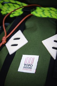 Topo Designs. made in America