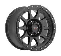 Walker Evans Wheels 504 Legacy Satin Black