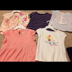 Toddler Girl's Top Bundle Toddler Girl's Top Bundle - 5 tops - size 2T from Gymboree & Old Navy Old Navy Tops