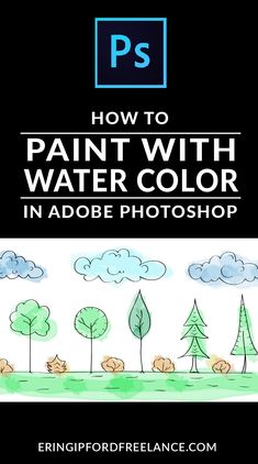 Learn how to paint your hand drawings by creating custom brush styles in Photoshop.