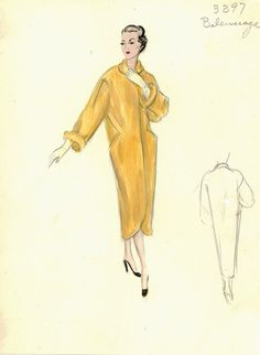 Balenciaga Coat,  by FIT Library Department of Special Collections via Flickr.