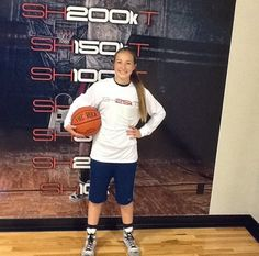 Congrats to Sophia Harris @sophia_h23 for reaching 25k shots made today. #shoot360 #arete360 #oneyeargrind