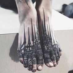 #Tattoo by @thievesoftower #⃣#Equilattera #tattoos #tat #tatuaje #tattooed #tattooart #tattoolife #tattoodesign #miamitattoo #miami #mia #florida #miamibeach #wynwood #love #cool #king #queen #dotwork #linework #black #mandala #castle #watercolortattoo #ink #art #design #illustration