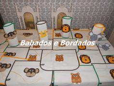 Babados & Bordados: Festa  Safari
