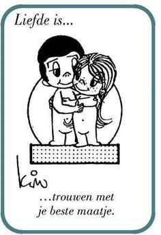 Liefde is ...3 jaar gelukkig getrouwd zijn !