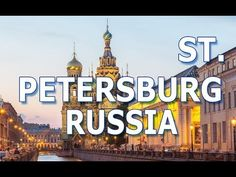 Saint Petersburg is Russia's second-largest city after Moscow. it was founded by Tsar Peter the Great on May On 1 September the name was chan. Petersburg Russia, Saint Petersburg, Tourism, History, World, Sports, Youtube, Travel, Turismo