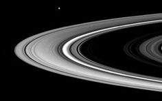 A spectacular new video combines NASA images of the Saturn and Jupiter systems into an eye-popping montage of moons, rings and swirling otherworldly storms.