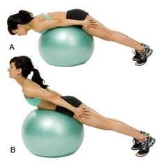 Strong lower back = better posture