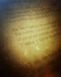 ...Caen sombras de sombras... Mañana #Oridios14Años