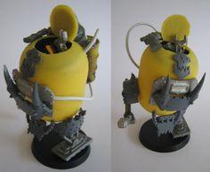 Grot Kinder Kans, Paint-Bots and Rebel Grots . Warhammer 40000, Warhammer Figuren, Warhammer Games, Orks 40k, Warhammer Models, Space Marine Dreadnought, Arte Robot, Gunpla Custom, Warhammer 40k Miniatures