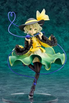 "[AmiAmi Exclusive Bonus] Touhou Project - ""The Closed Eyes of Love"" Koishi Komeiji 1/8 Complete Figure (w/Crystal Paperweight)"